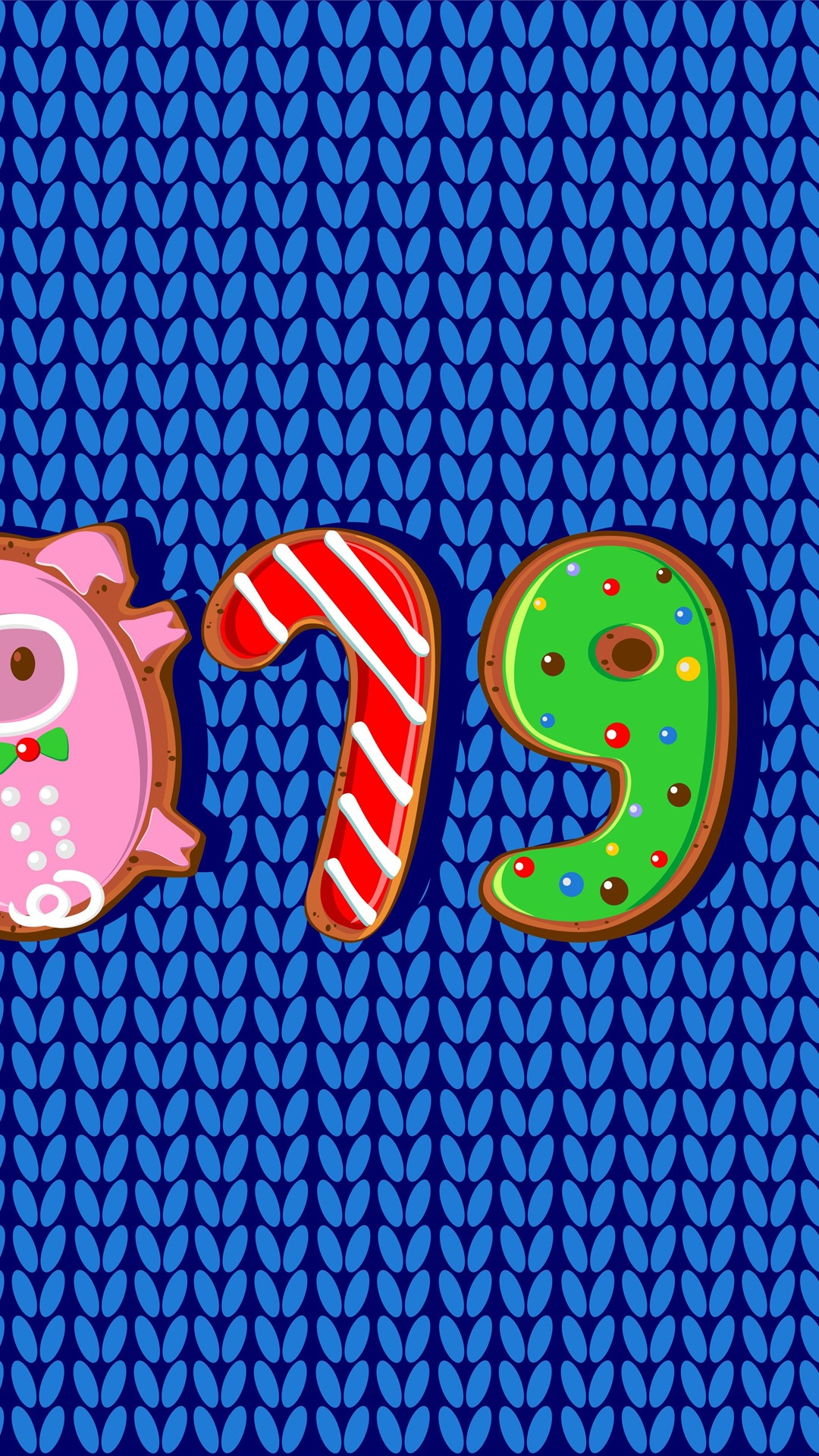 Wallpaper Happy New Year 2019 Pig Year Cookies Art Picture