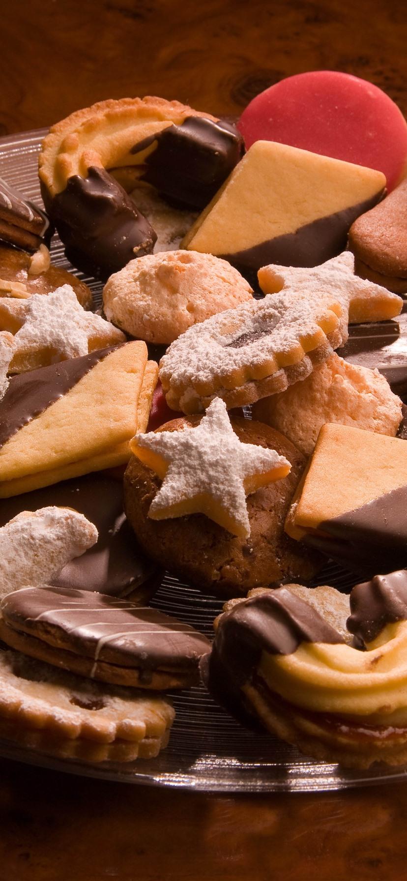 Печенье и шоколад картинка
