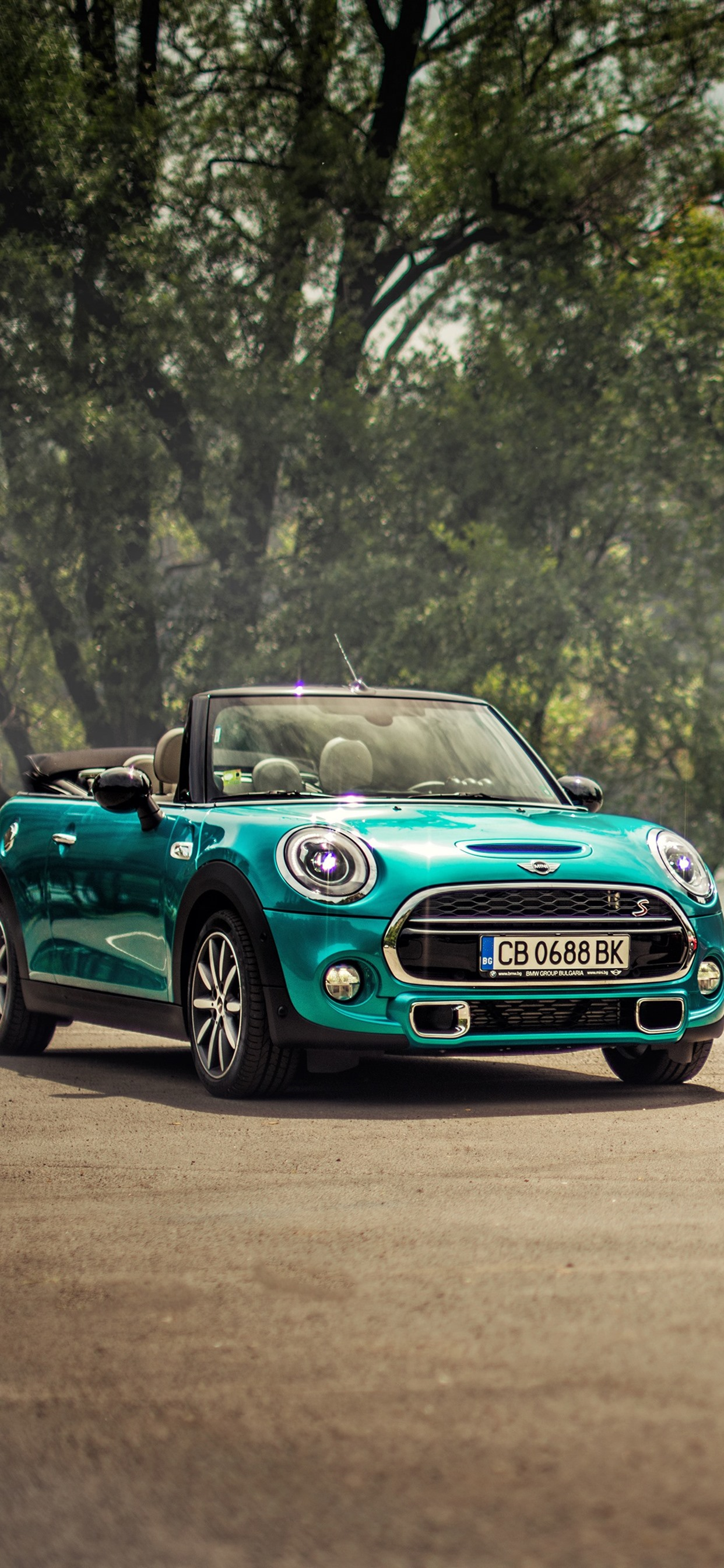 Mini Cooper Blue And Red Cars 1242x2688 Iphone 11 Pro Xs Max Wallpaper Background Picture Image