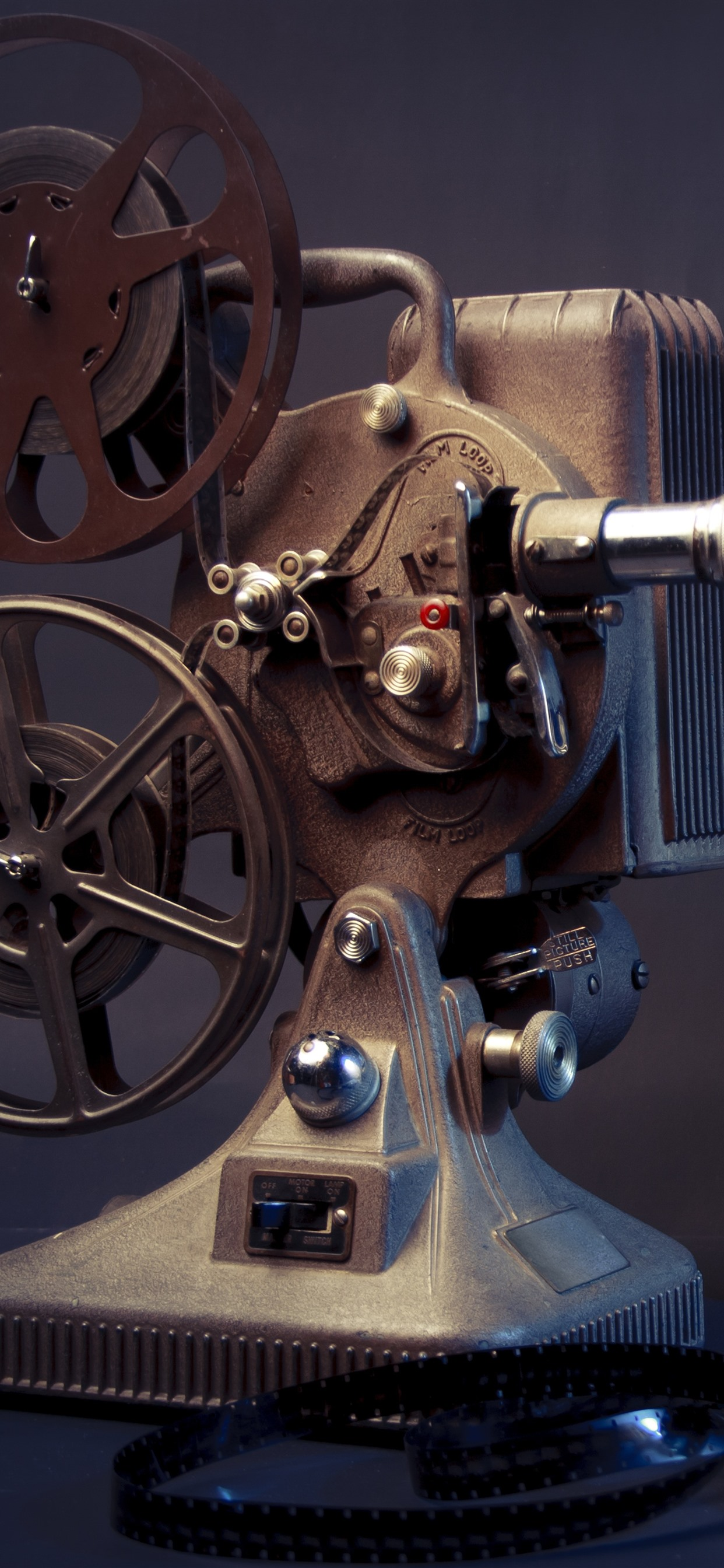 Movie Player Vintage 1242x2688 Iphone 11 Pro Xs Max Wallpaper Background Picture Image