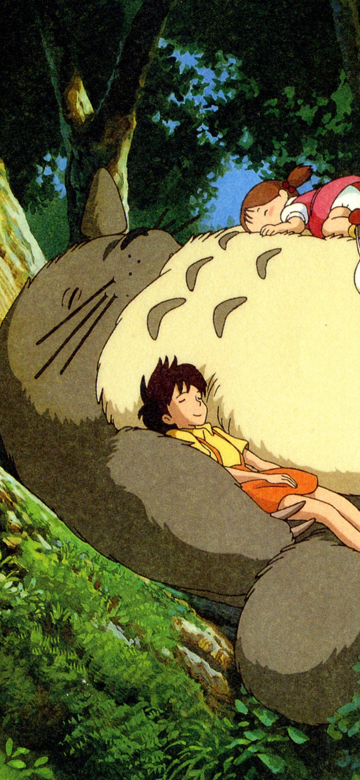 My Neighbor Totoro Hayao Miyazaki Happy Childhood