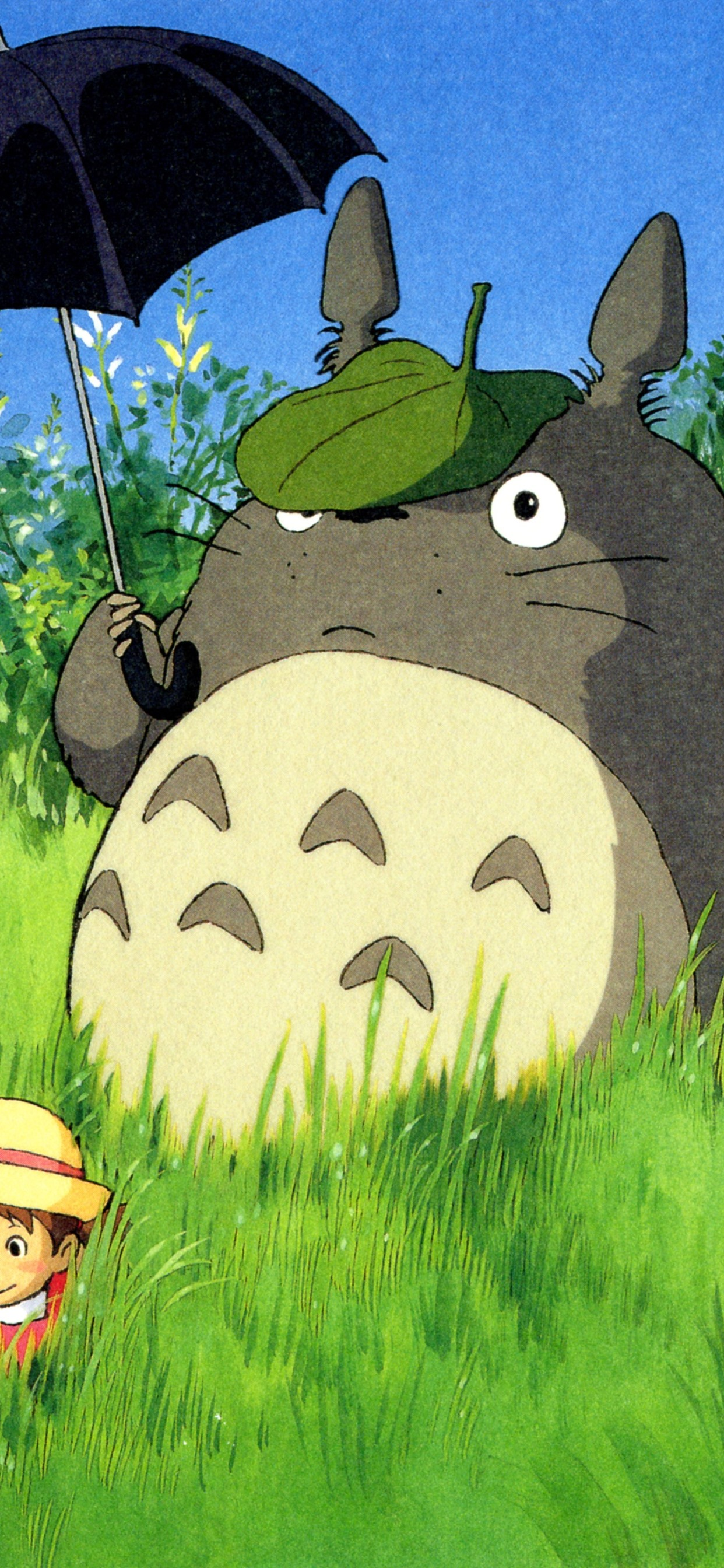 My Neighbor Totoro Classic Anime 1242x2688 Iphone Xs Max Wallpaper