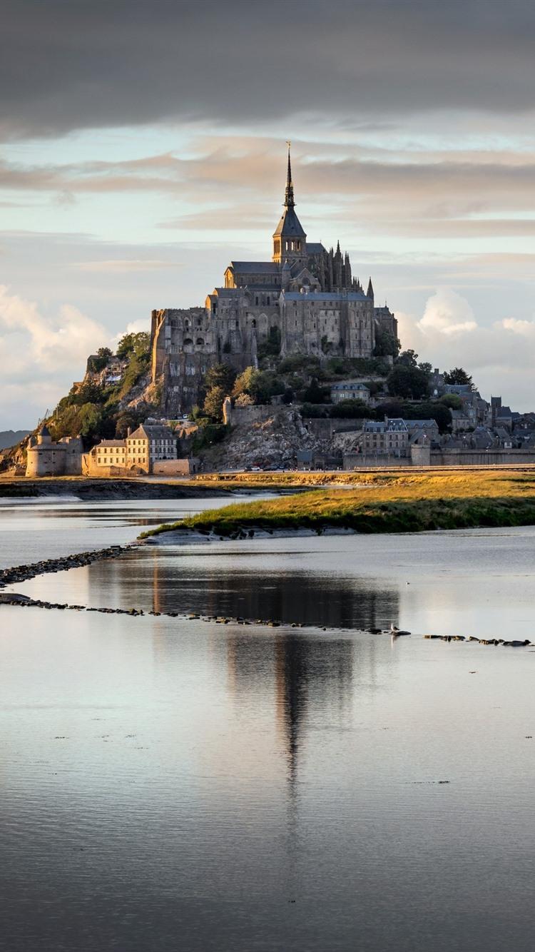 Fondos De Pantalla Normandía Francia Mont Saint Michel