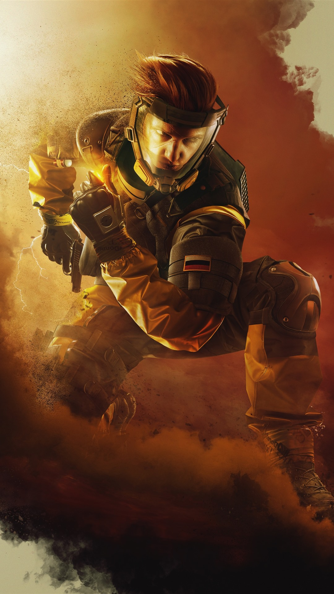 Rainbow Six Siege Mask Smoke 1242x2688 Iphone Xs Max Wallpaper