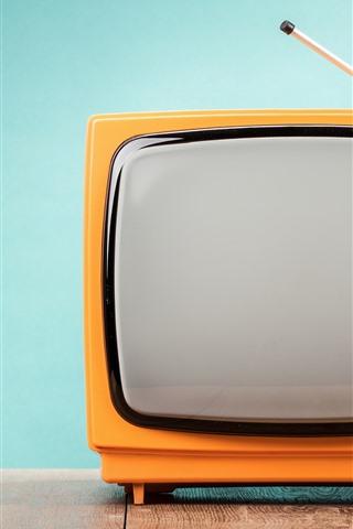 iPhone Fondos de pantalla TV retro, antena