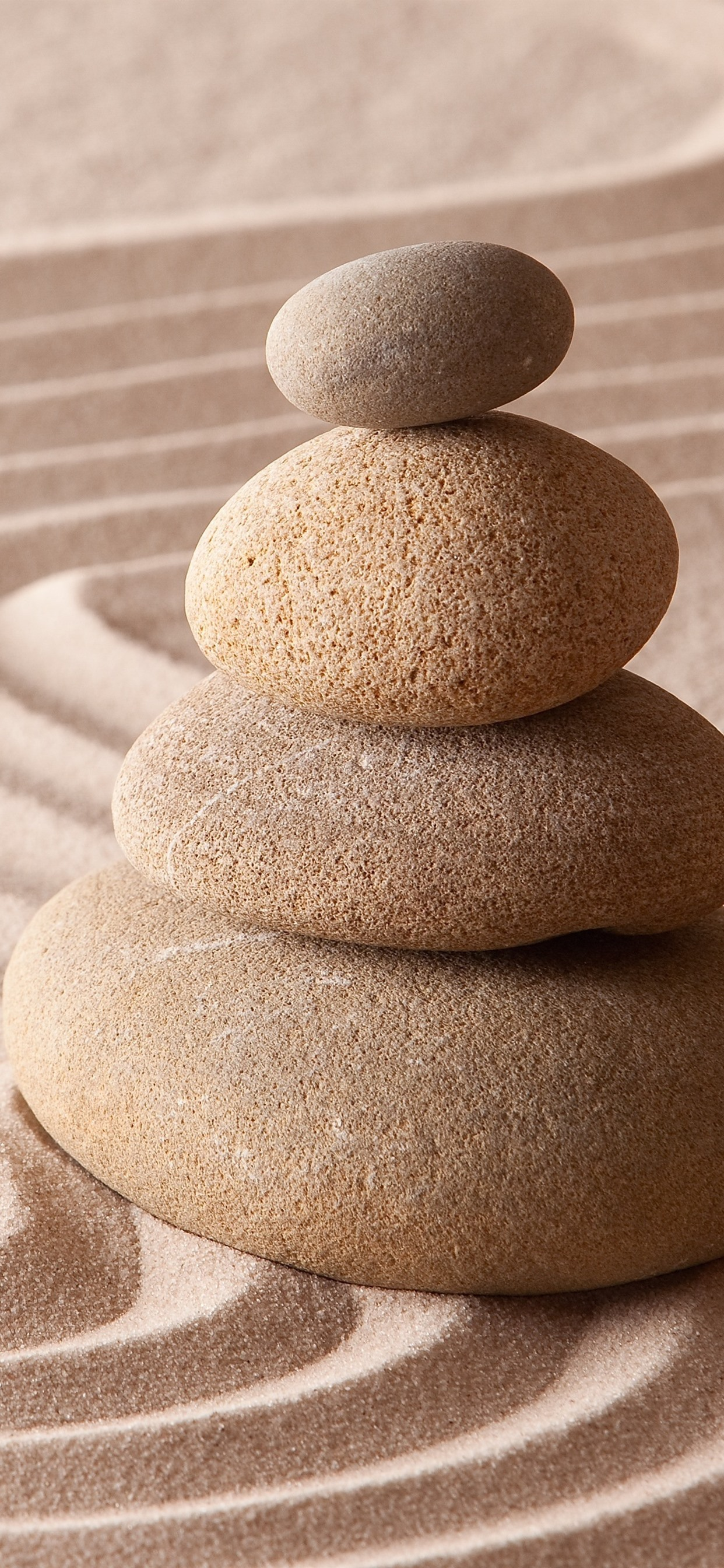 Sand Stones Still Life 1242x2688 Iphone Xs Max Wallpaper