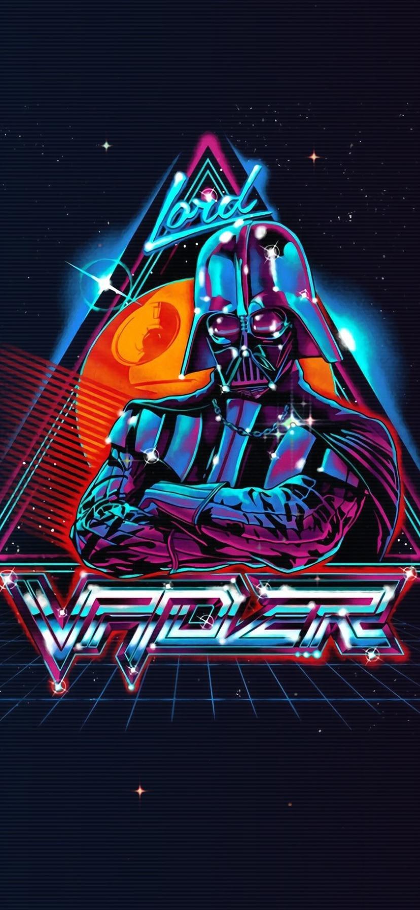 Star Wars Darth Vader art picture black