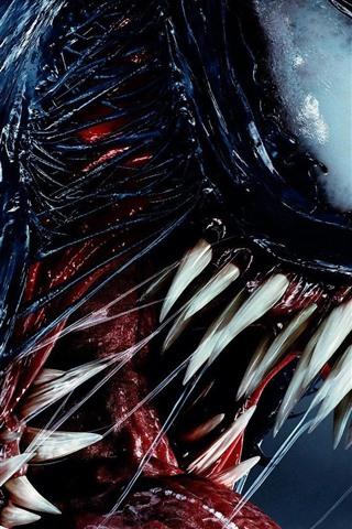iPhone Hintergrundbilder Gift, Zähne, Monster, 2018 Film