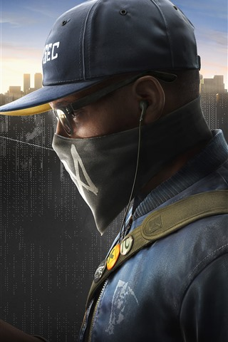 iPhone Wallpaper Watch Dogs 2, PS4 games