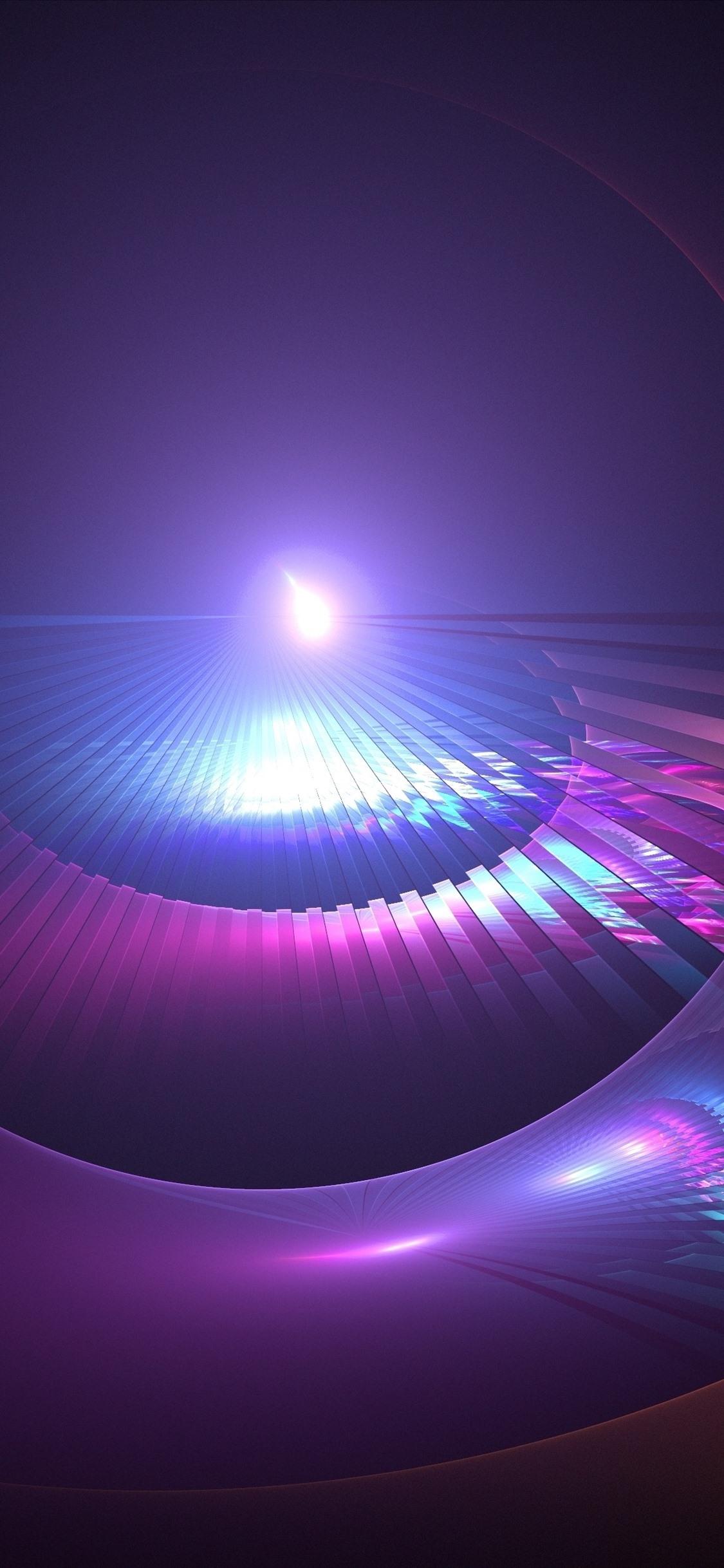 Wallpaper Abstract Background Purple Light Glare
