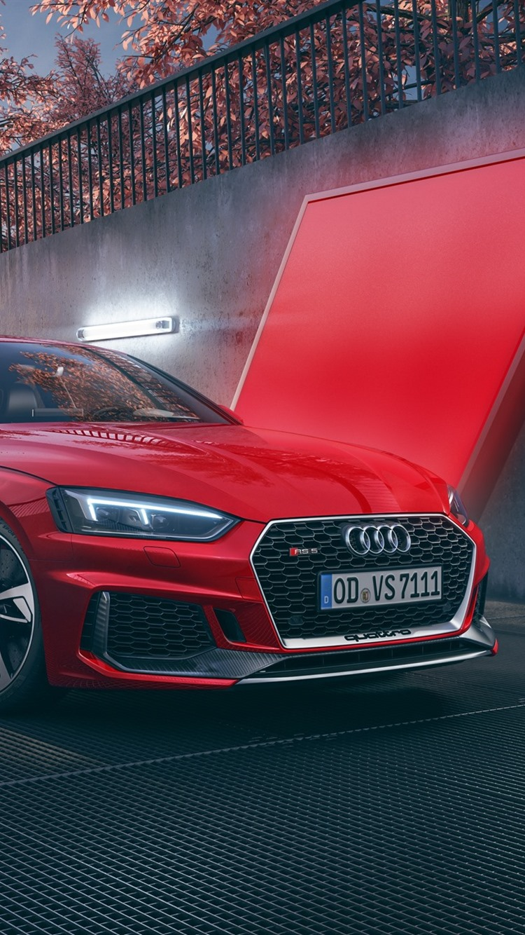 Audi Rs5 Red Car 750x1334 Iphone 8 7 6 6s Wallpaper Background Picture Image