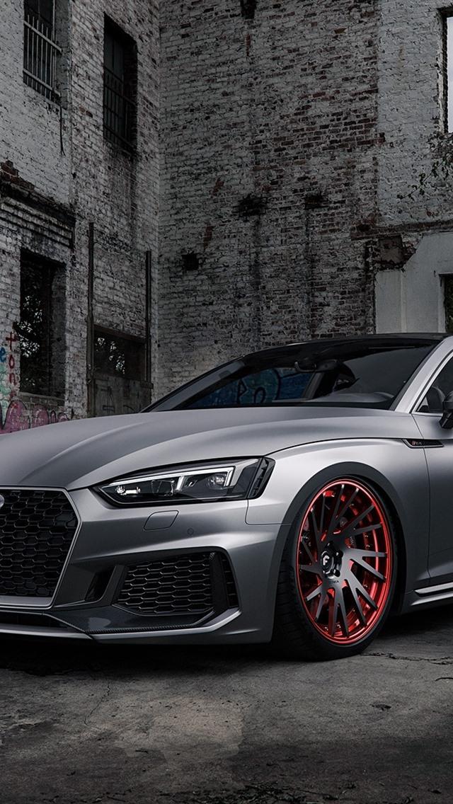 Audi Rs5 Silver Car 640x1136 Iphone 55s5cse Fondos De