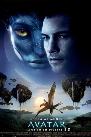 iPhone Hintergrundbilder Avatar, Science-Fiction-Film