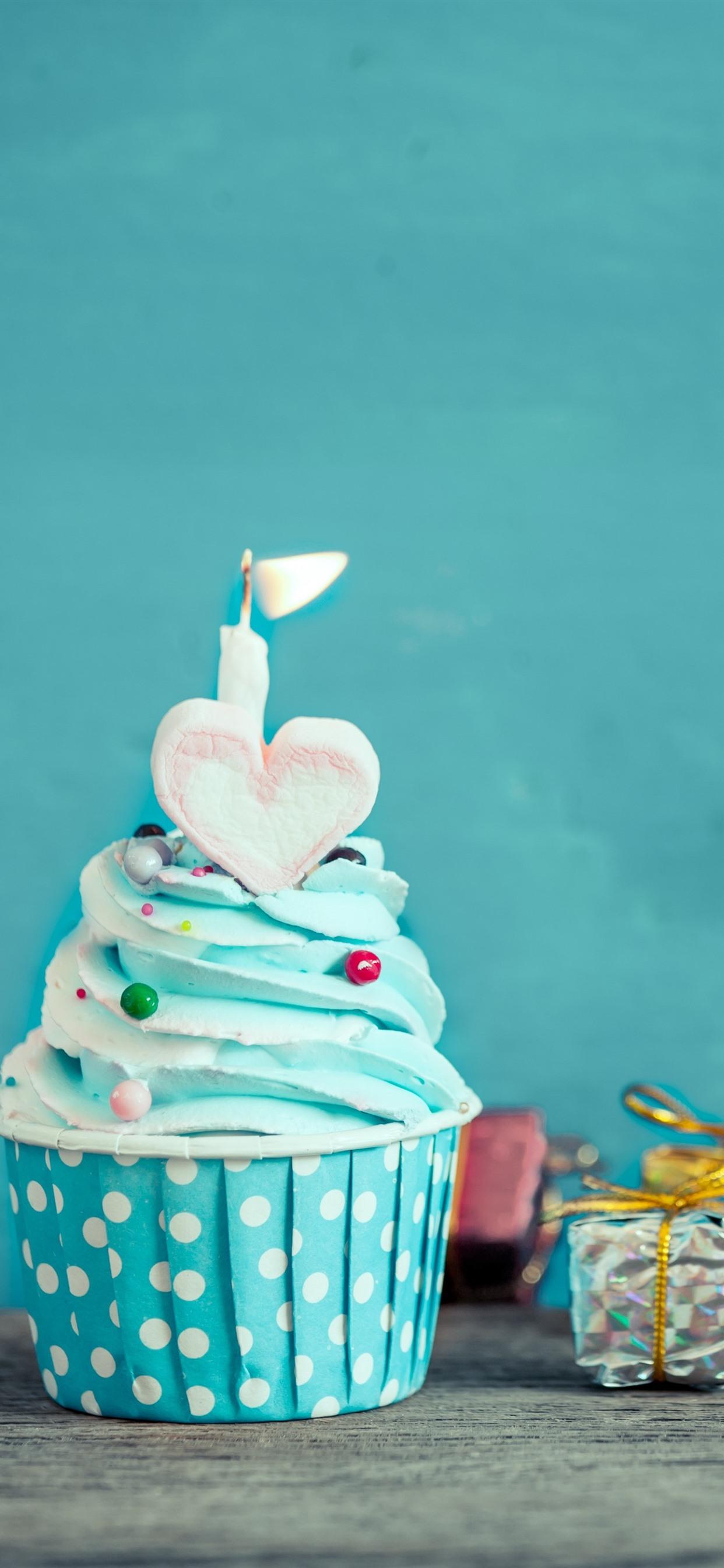Astonishing Birthday Cake Blue Cream Candle Love Heart Ts 1242X2688 Funny Birthday Cards Online Aeocydamsfinfo