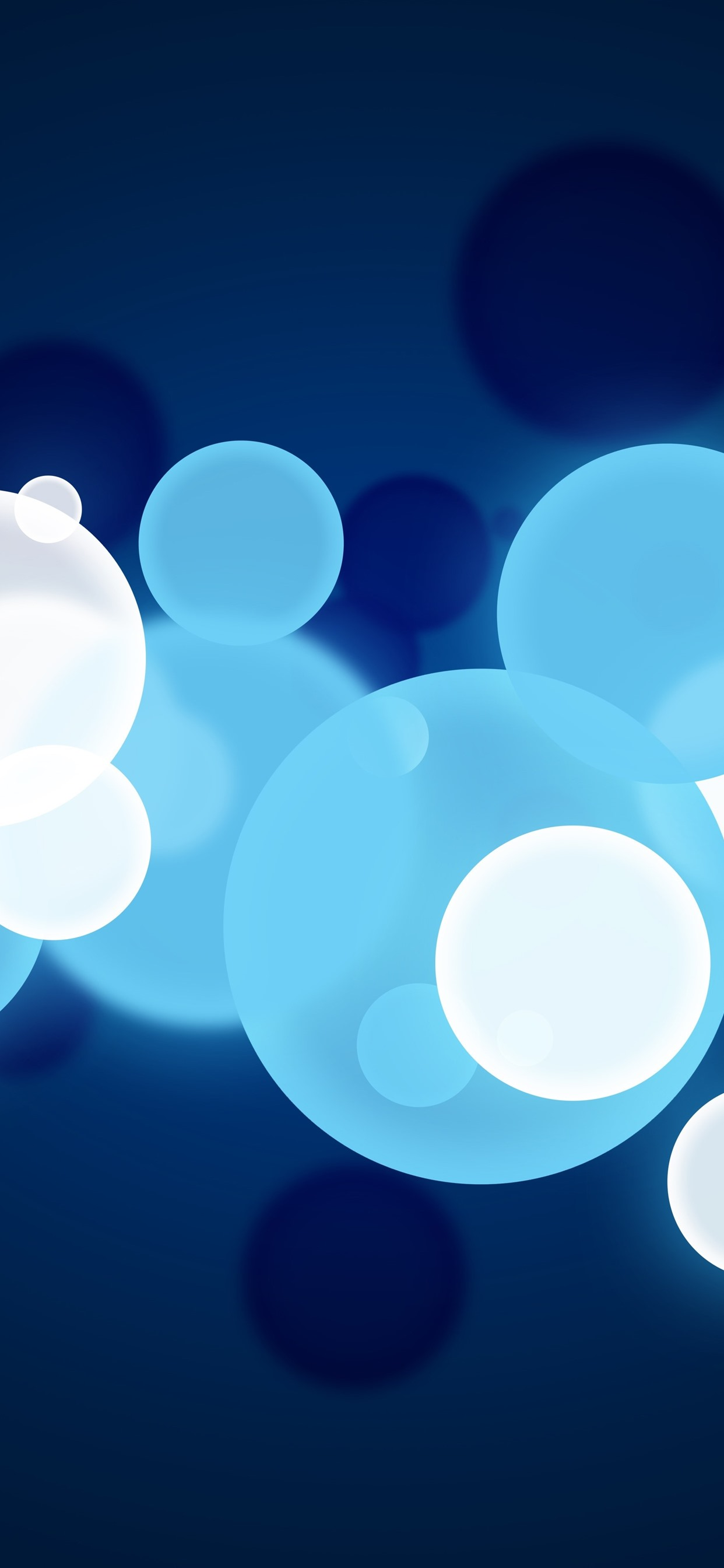 Blue And White Bubbles Abstract 1242x2688 Iphone 11 Pro Xs Max Wallpaper Background Picture Image