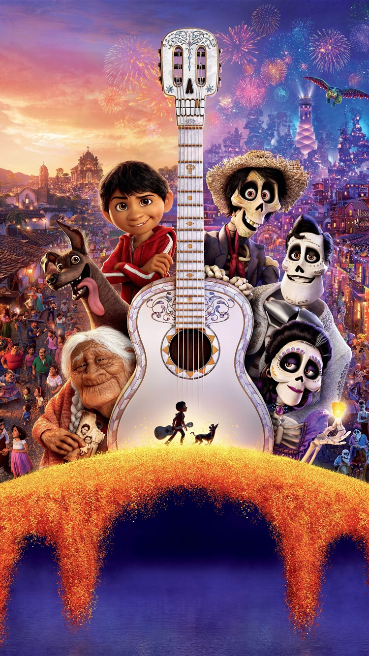 Wallpaper Coco Disney Cartoon Movie 5120x2880 Uhd 5k Picture Image
