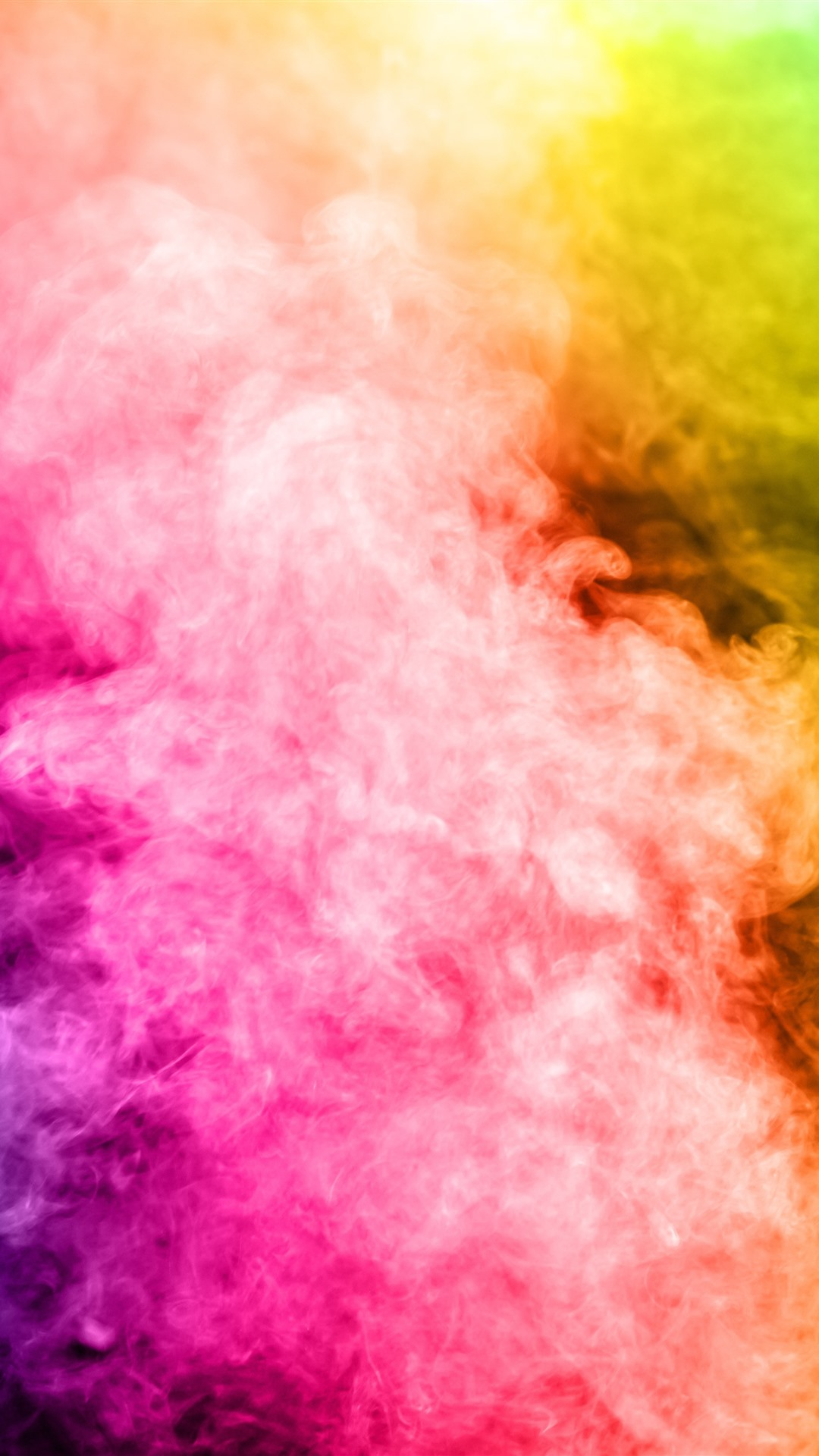 Colorful Smoke Rainbow Colors 1242x2688 Iphone Xs Max Wallpaper