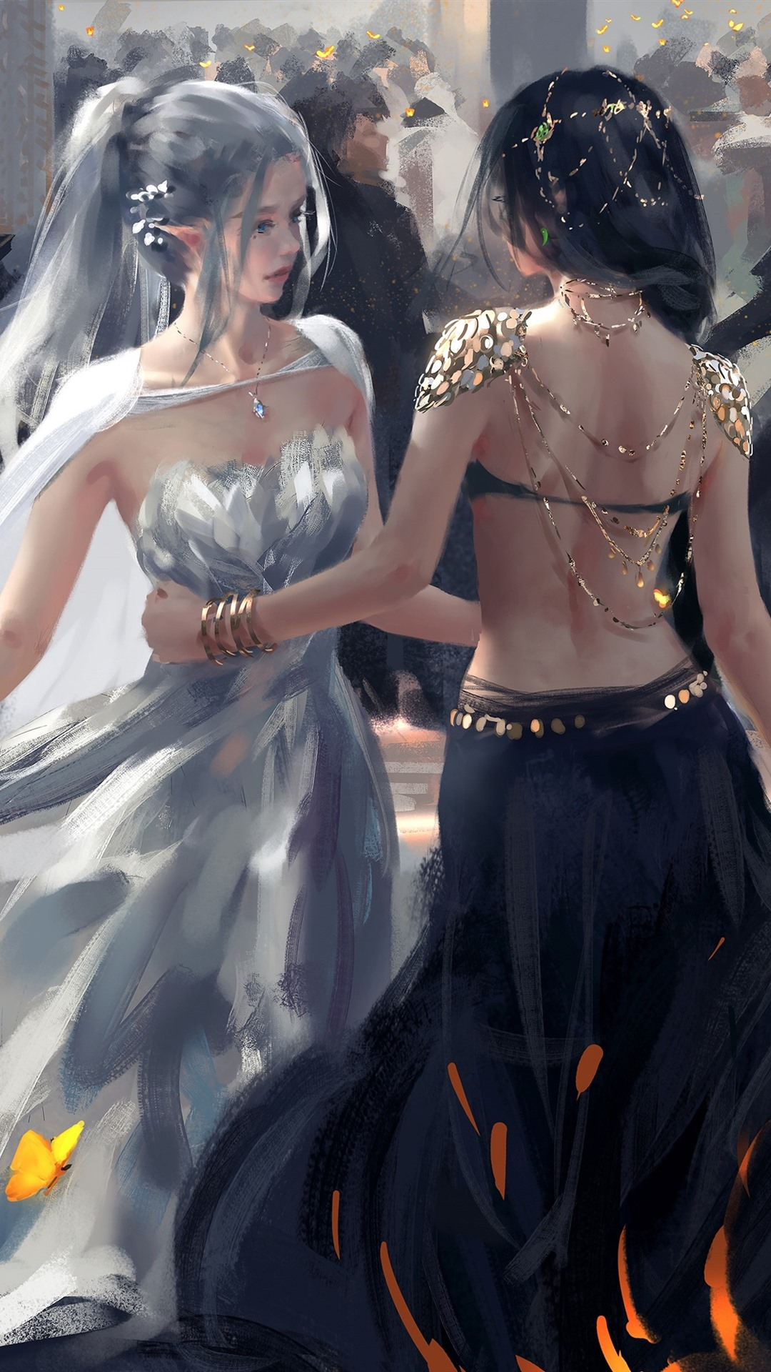Elf Dancer Fantasy Art