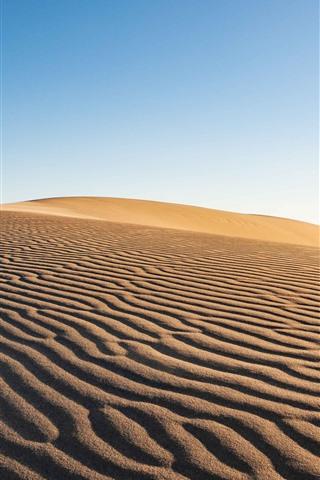 iPhone Fondos de pantalla Desierto, árido, arena