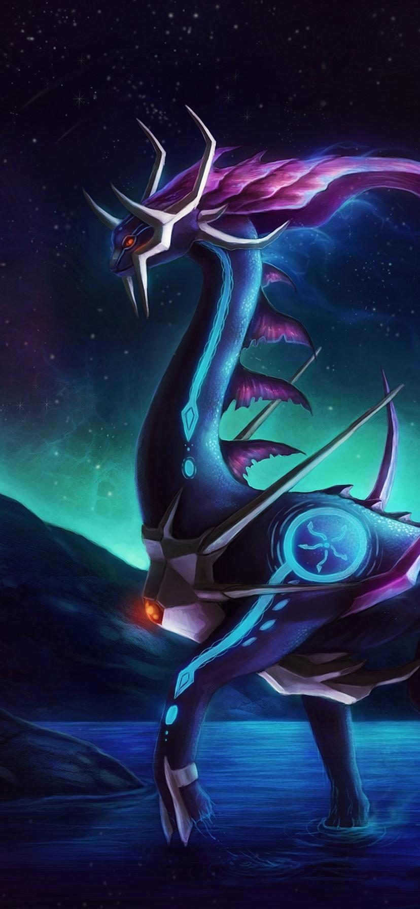 ファンタジー動物 ドラゴン スペース 惑星 828x1792 Iphone 11 Xr