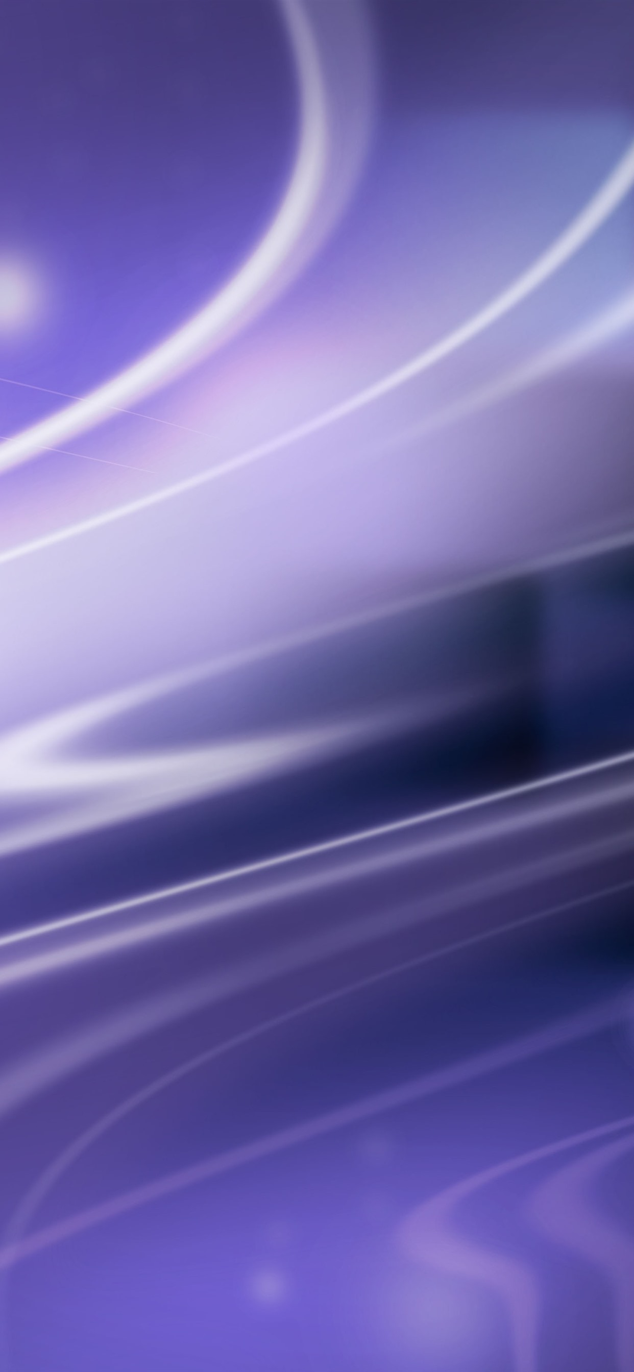 淡い紫色の曲線 線 抽象 1242x2688 Iphone 11 Pro Xs Max 壁紙 背景