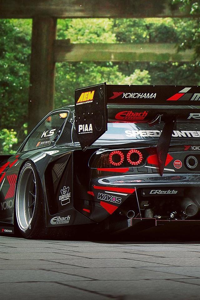 Mazda Speed 3 >> 壁纸 马自达RX-7 F1赛车后视图 1920x1200 HD 高清壁纸, 图片, 照片