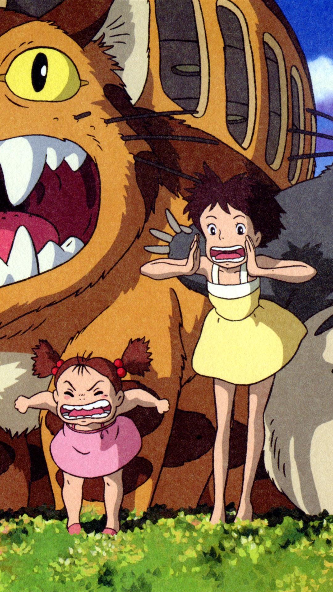 Wallpaper My Neighbor Totoro, Japanese anime 3840x2160 UHD ...
