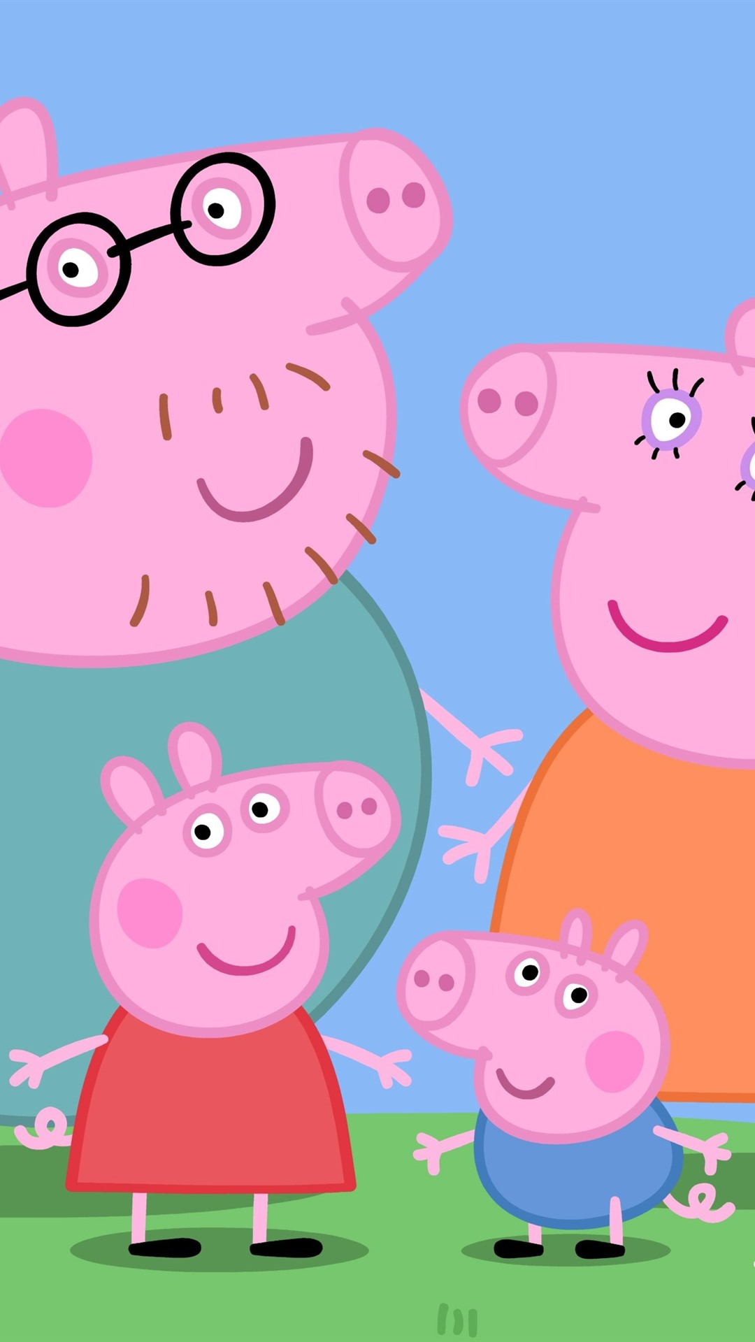Peppa Pig Classic Anime 1080x1920 Iphone 8 7 6 6s Plus
