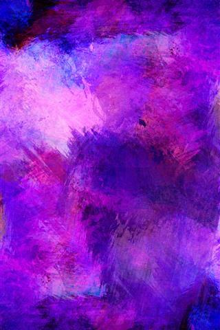 iPhone Papéis de Parede Pintura roxa, Sumário