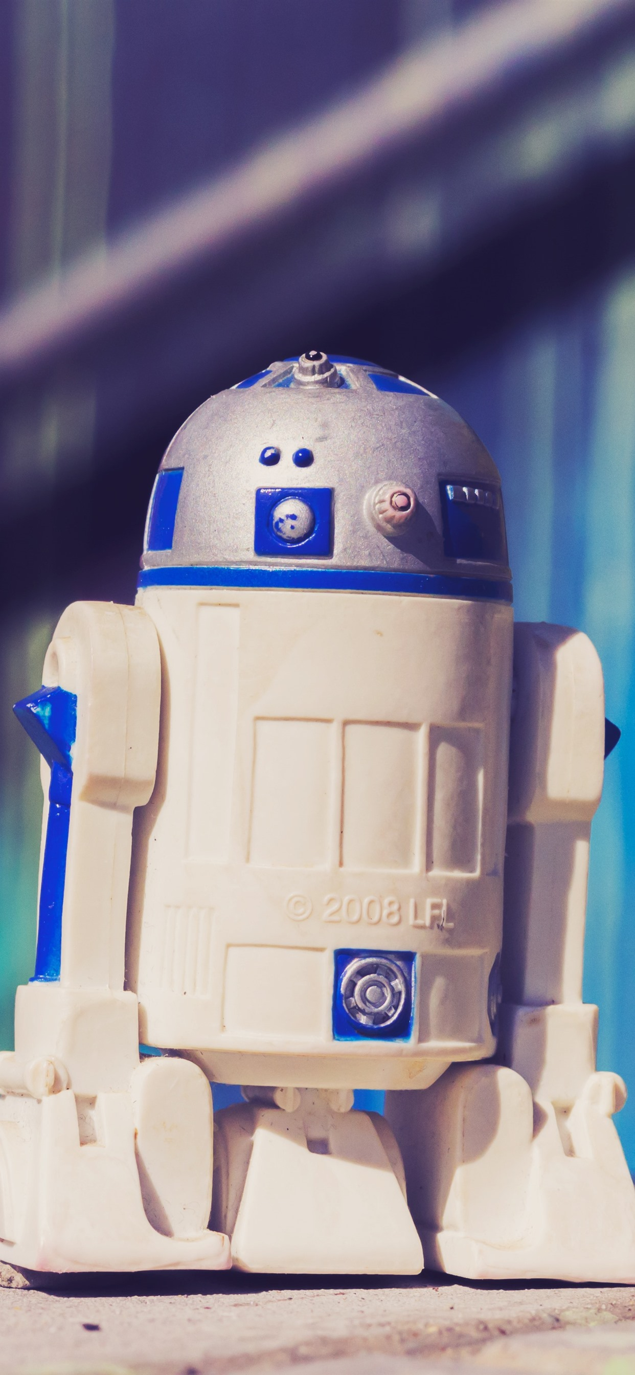 R2 D2ロボット玩具 1242x2688 Iphone 11 Pro Xs Max 壁紙 背景 画像