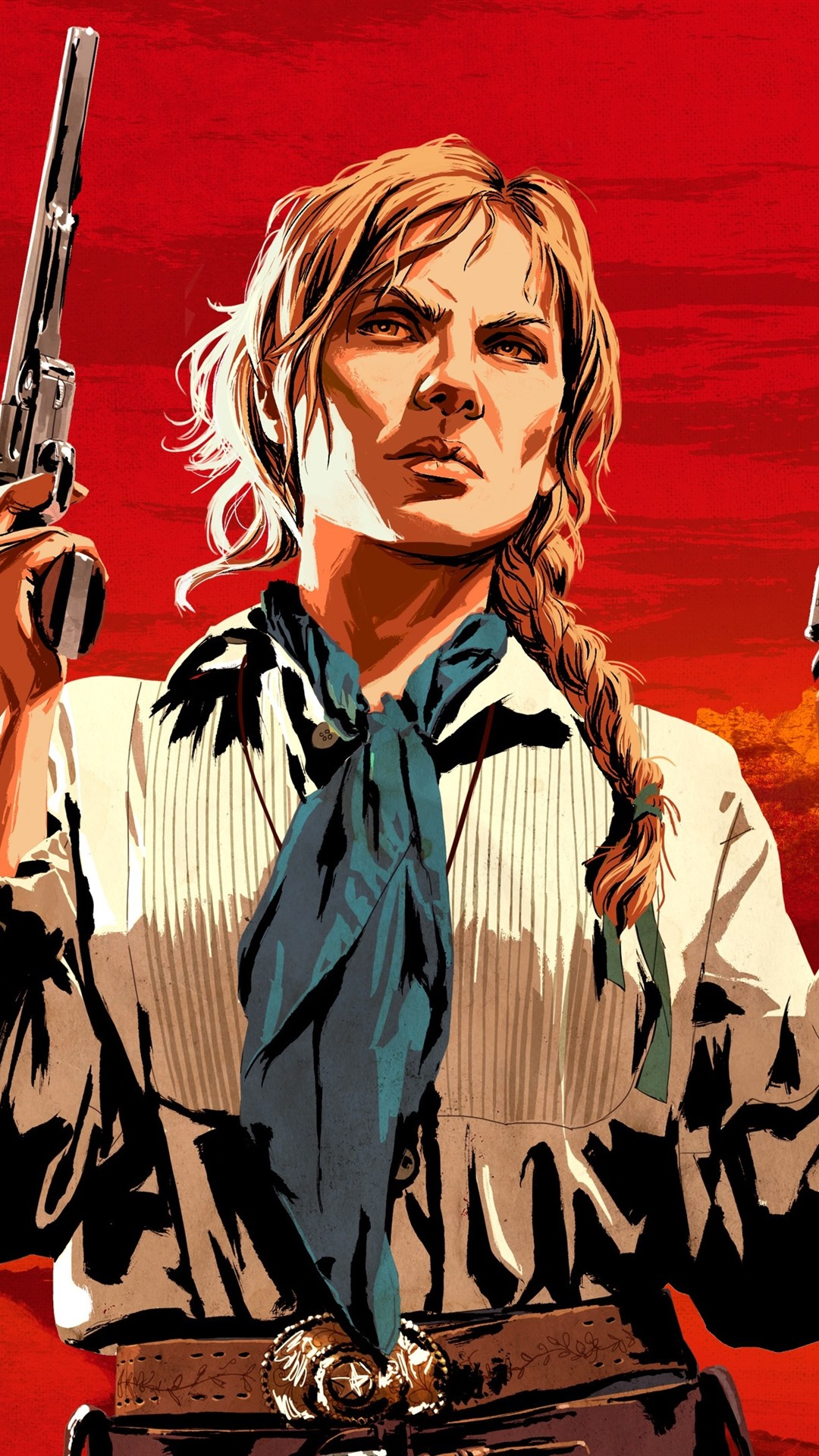 Red Dead Redemption 2 Guns 1080x1920 Iphone 8 7 6 6s Plus Wallpaper Background Picture Image