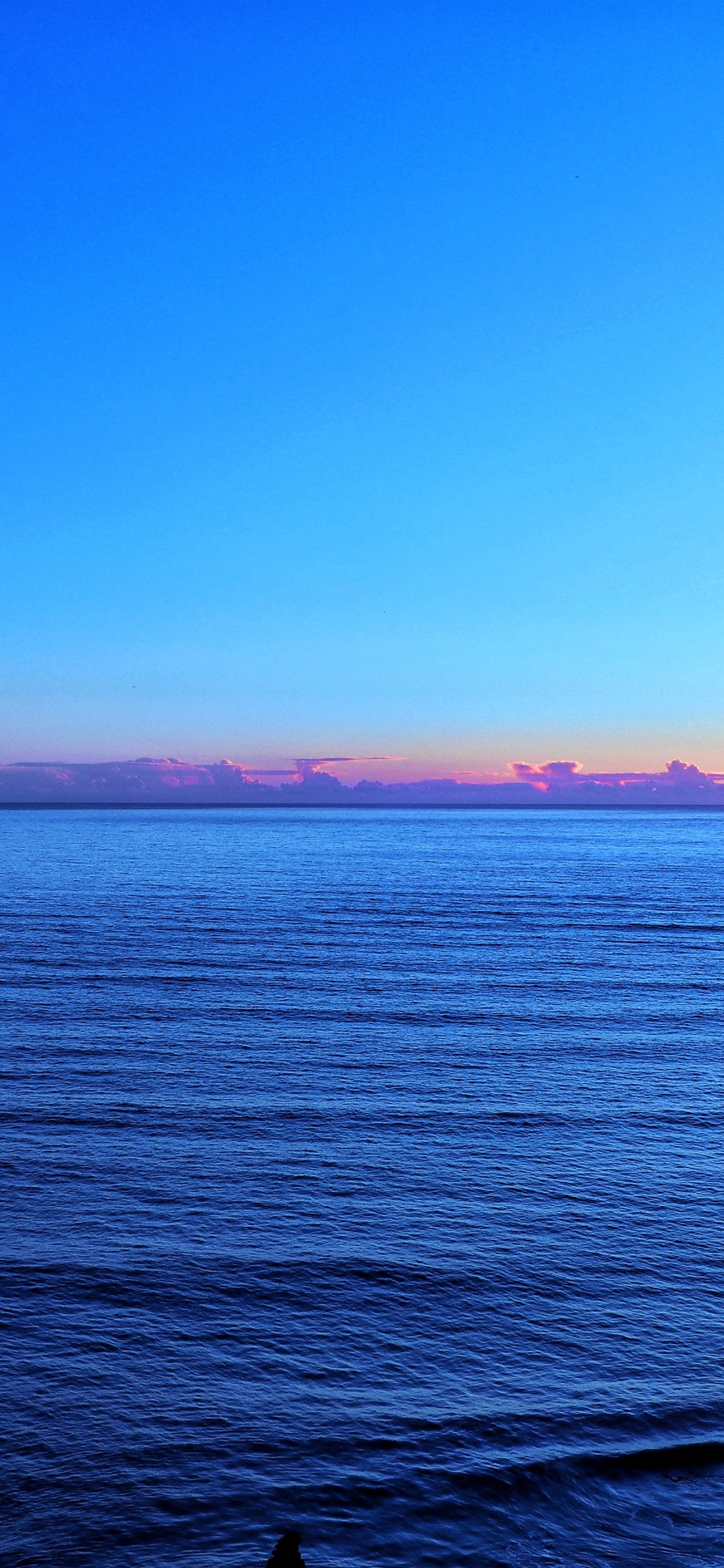 Sea Sunset Blue Sky Glare 1242x2688 Iphone 11 Pro Xs Max Wallpaper Background Picture Image