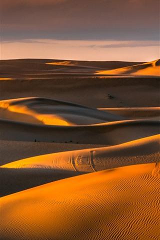 iPhone Wallpaper Tengger Desert, Inner Mongolia, China