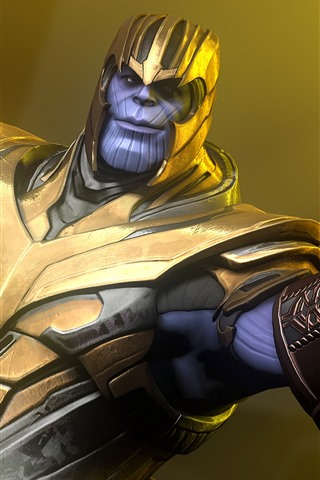 iPhone Wallpaper Thanos, Marvel Comics, Avengers: Infinity War