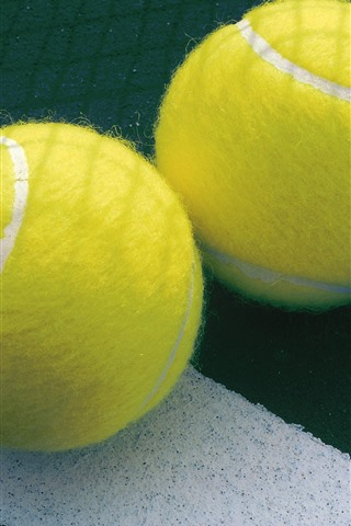 iPhone Wallpaper Two tennis balls