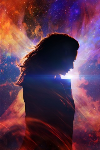 iPhone Wallpaper X-Men: Dark Phoenix 2019