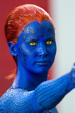 iPhone Hintergrundbilder X-Men, Jennifer Lawrence