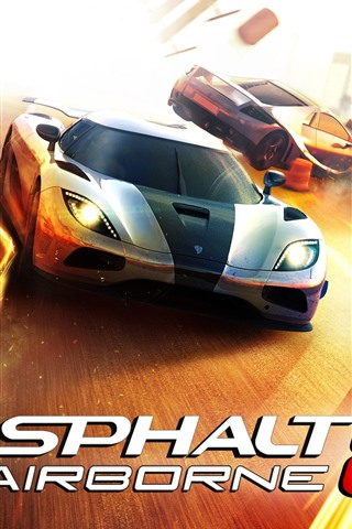 iPhone Wallpaper Asphalt 8: Airborne