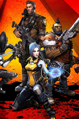 Borderlands 2 Video Game 1125x2436 Iphone Xs X Wallpaper