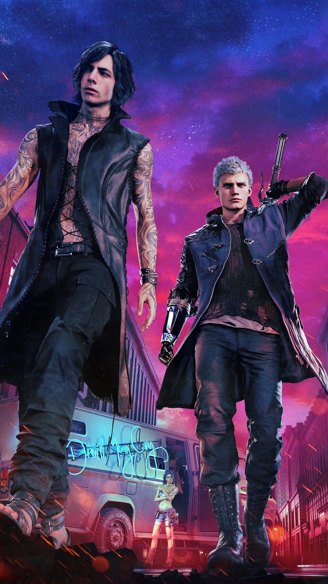 Devil May Cry 5 Ps4 Game 1242x26 Iphone 11 Pro Xs Max Wallpaper Background Picture Image