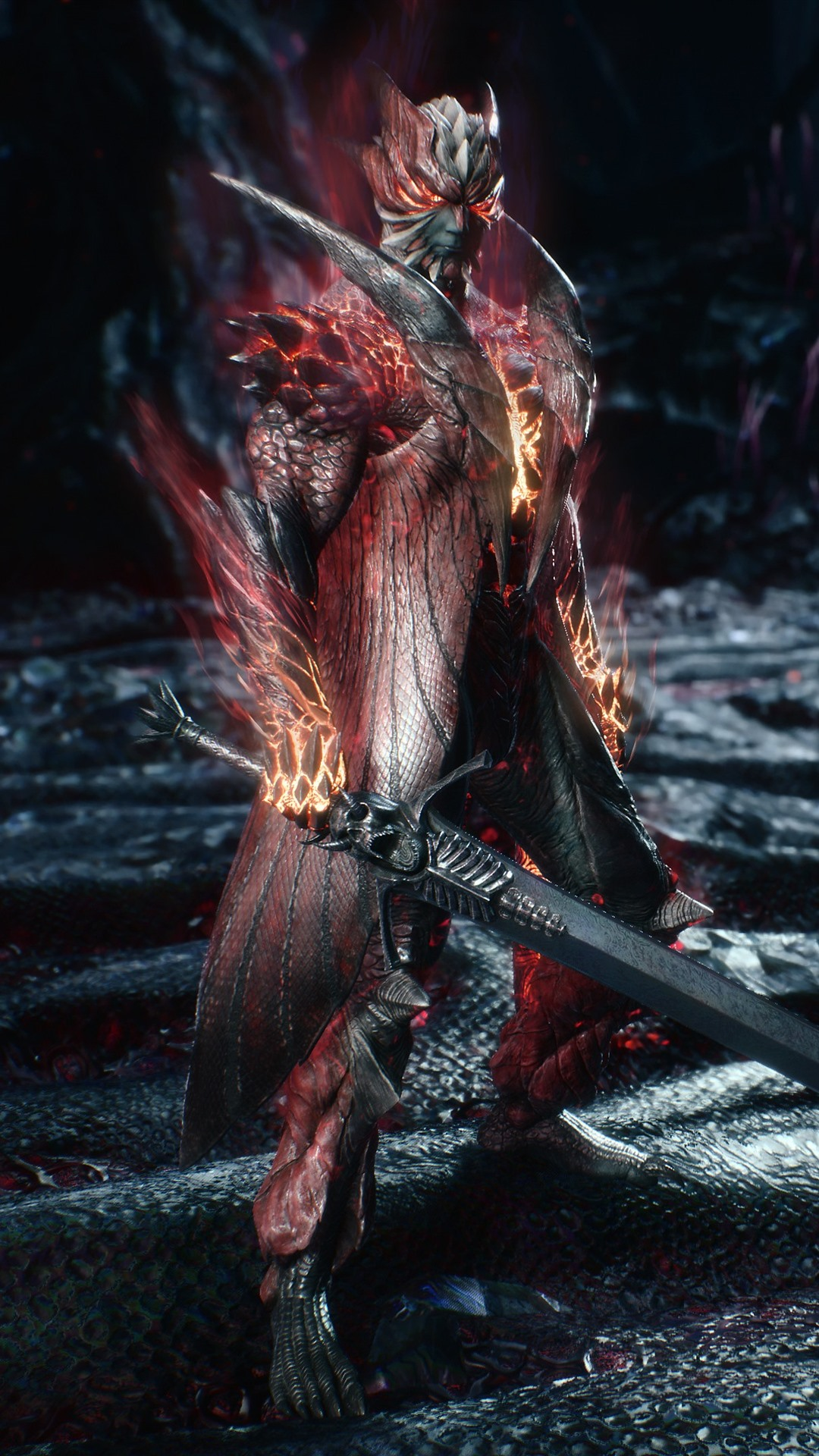 Wallpaper Devil May Cry 5 Warrior Sword 3840x2160 Uhd 4k Picture