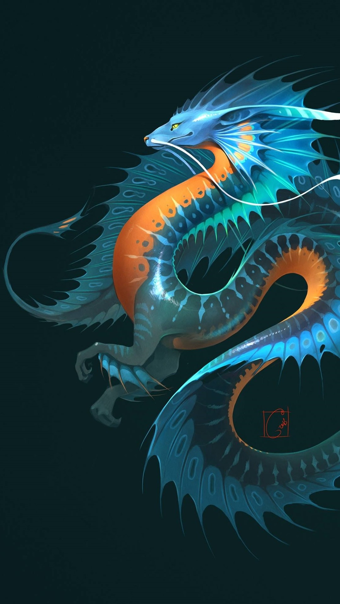 Dragon Fantasy Animal 1080x1920 Iphone 8 7 6 6s Plus