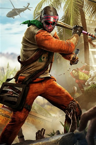 iPhone Wallpaper Dying Light: Bad Blood