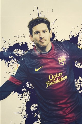 lionel messi 02 640x960 iphone 4 4s