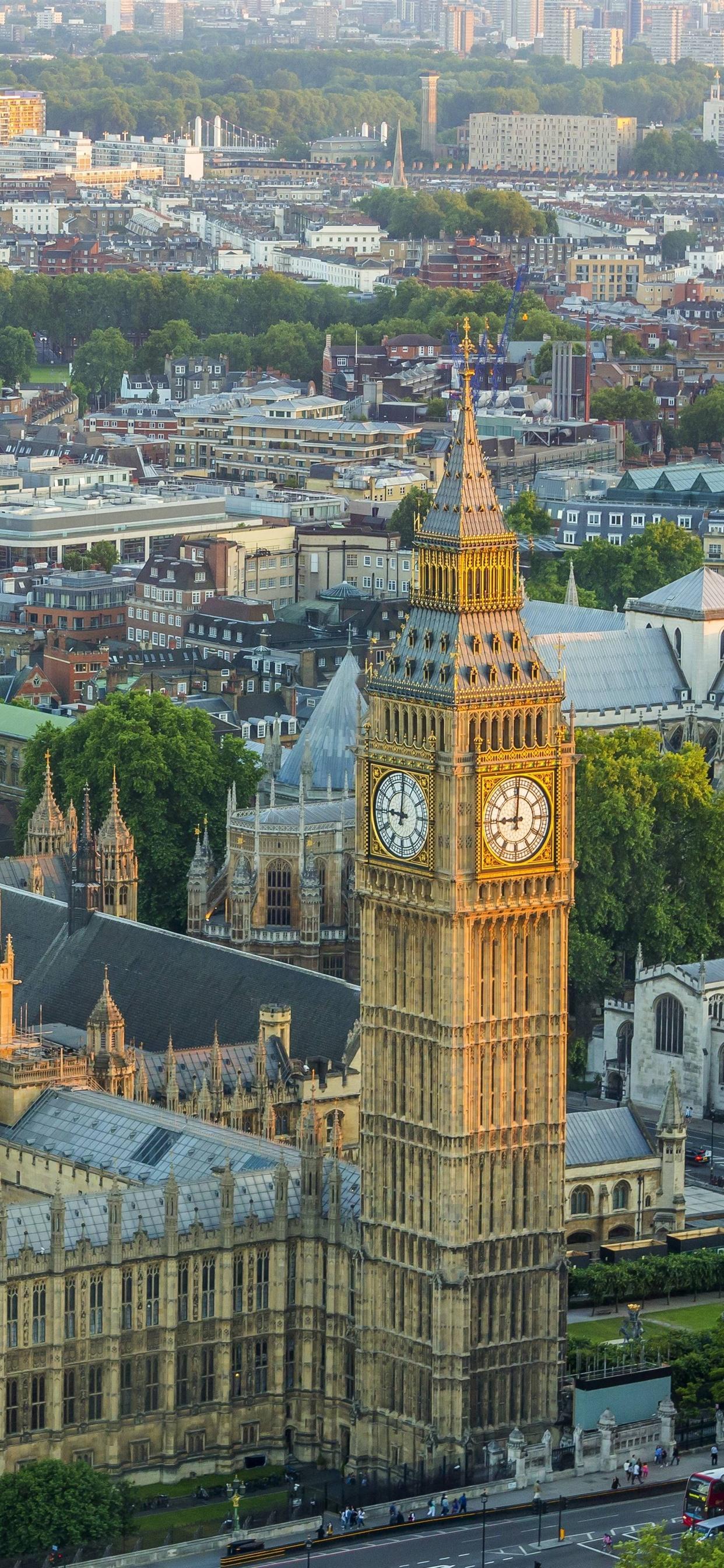 ロンドン ビッグベン 建物 都市 イギリス 1242x2688 Iphone 11 Pro