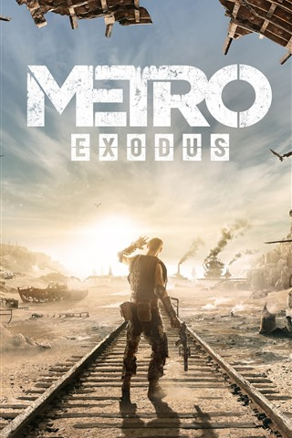 iPhone Wallpaper Metro Exodus, 4A Games