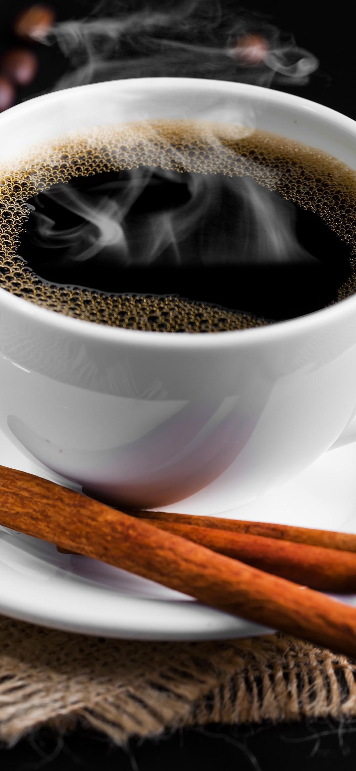 コーヒー1杯 シナモン コーヒー豆 1242x2688 Iphone 11 Pro Xs Max