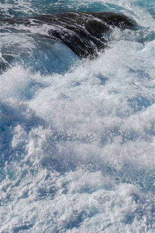 Sea Water Splash Foam White 1242x2688 Iphone Xs Max