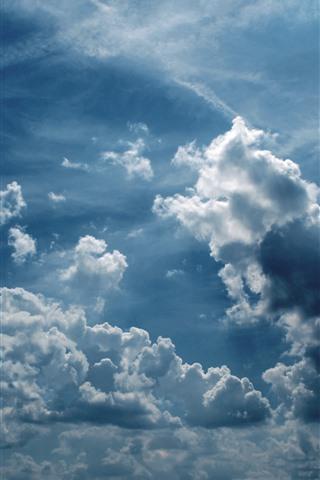 iPhone Wallpaper Sky, clouds, nature