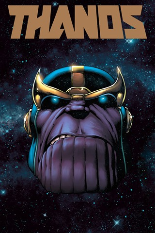 Thanos Space Stars Marvel Comics 1242x2688 Iphone 11 Pro Xs Max Wallpaper Background Picture Image